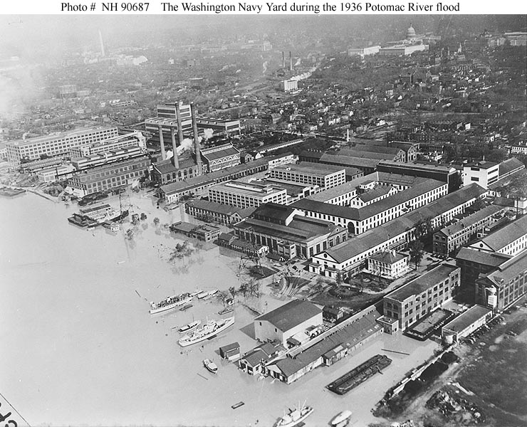 Today In History September 16 The Washington Navy Yard