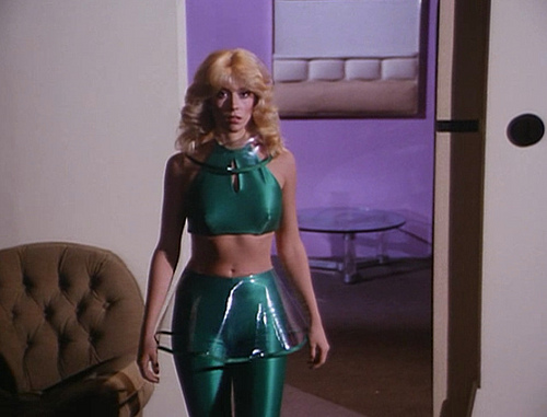 A late '70s/early '80s TV show ain't complete with a Judy Landers guest appearance. Judy Landers is the Mark Sheppard of late '70s/early '80s TV.
