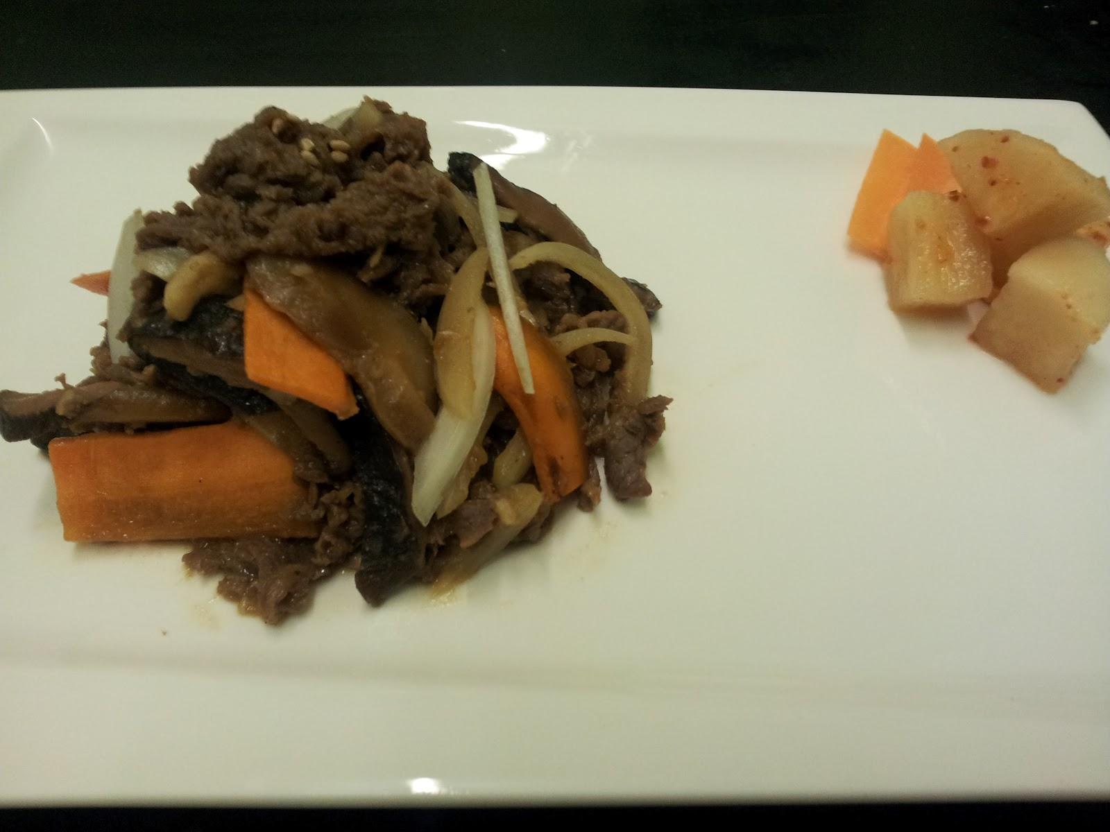 La cuisine cor enne cours de cuisine cor enne du for Cuisine coreenne