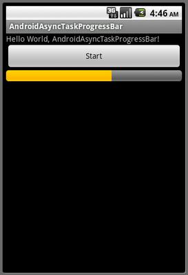 Easy Android Tutor Progressbar Running In Asynctask