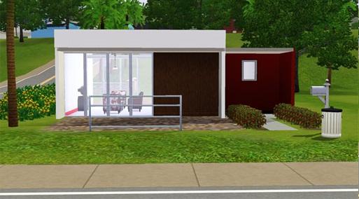 The sims 3 casas modernas em the sims 3 for Casas sims 4 modernas