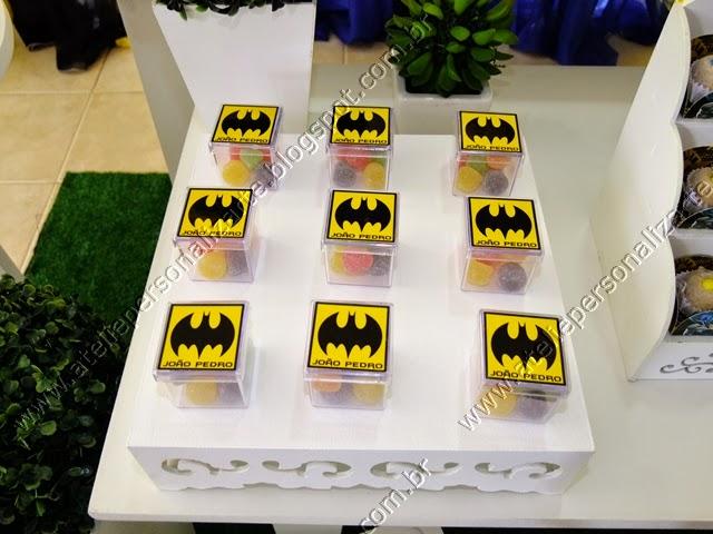 Decoração festa infantil Batman provençal