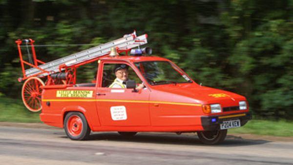 mobil kecil pemadam kebakaran