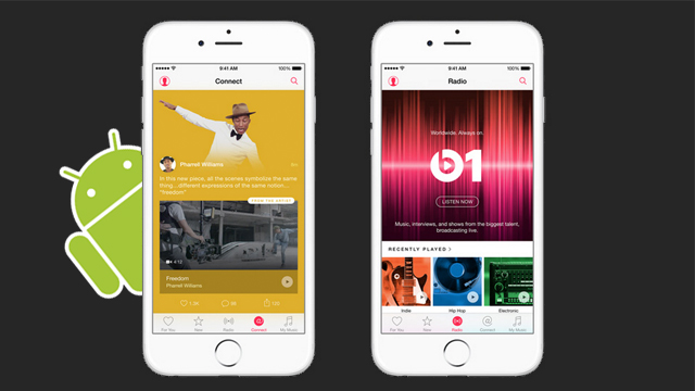 Apple Music Available in Android Market