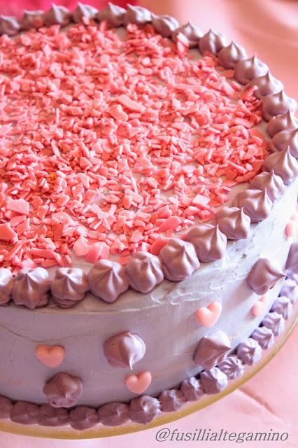 Torta raimbow cake