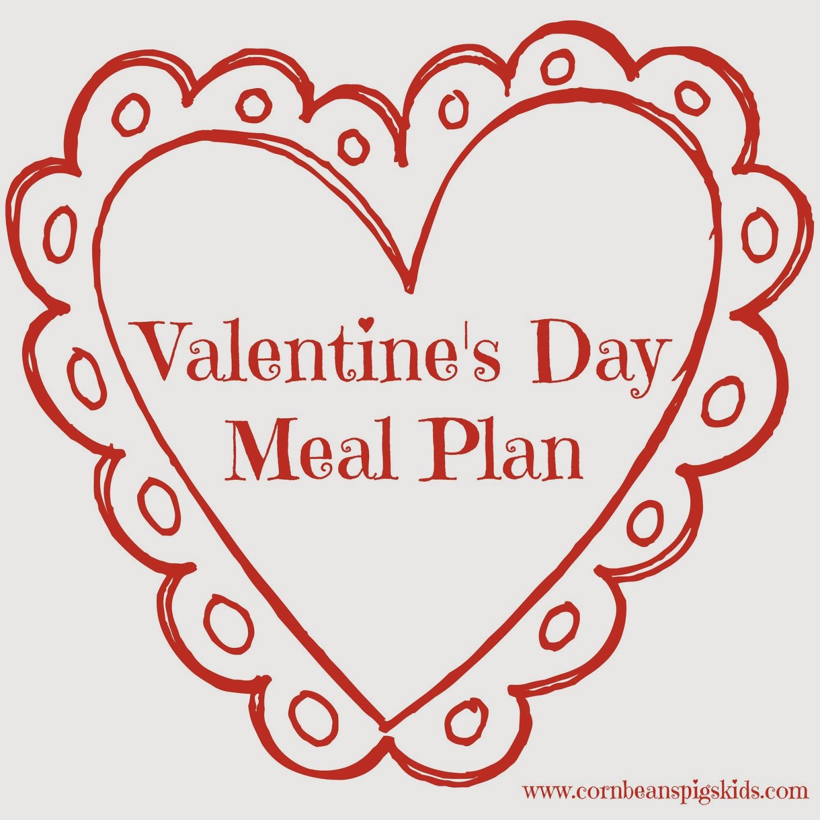 Valentine's Day Menu Plan