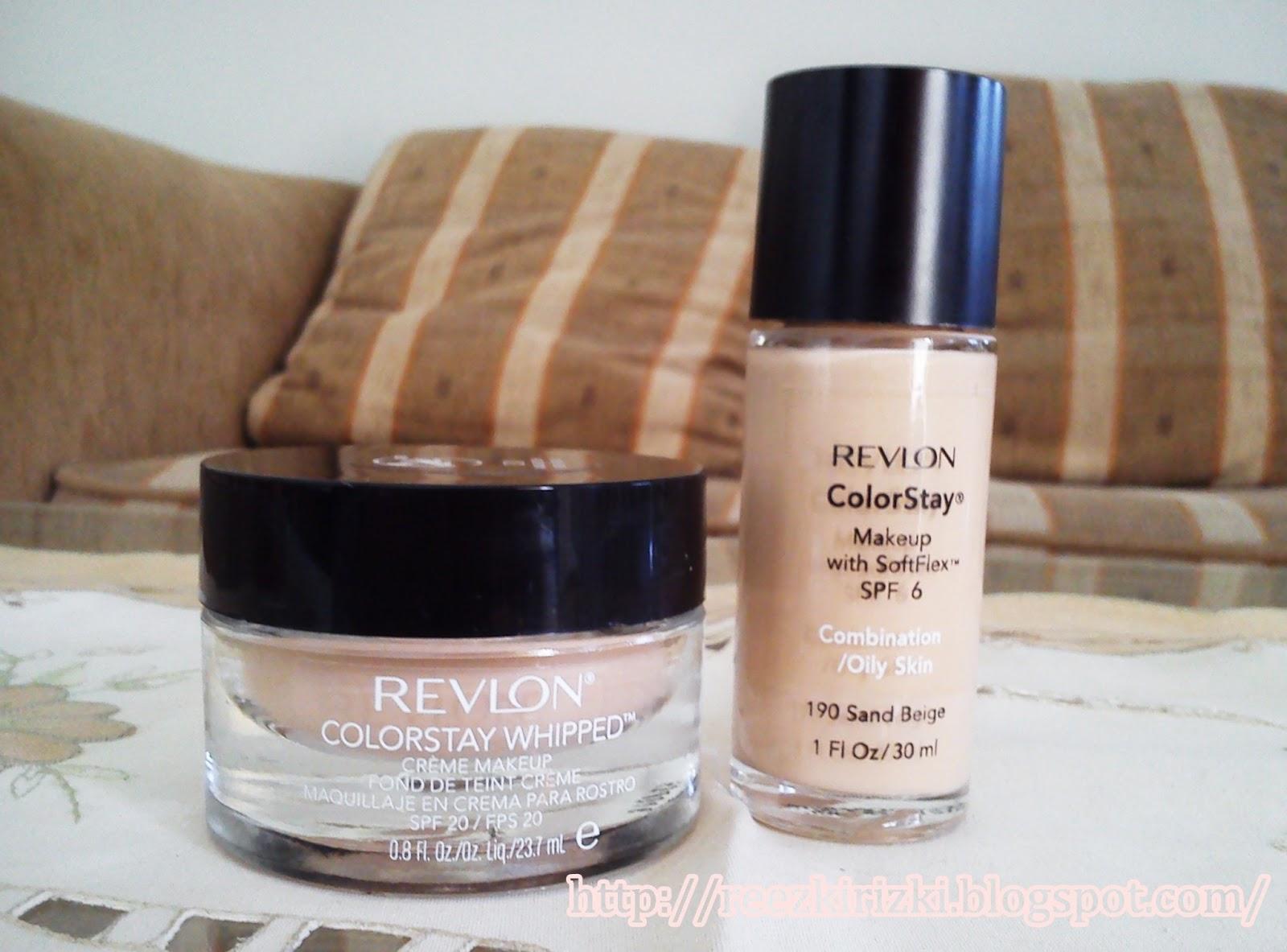 Reezki's Beauty Blog: Comparison : Revlon Colorstay Foundation VS ...