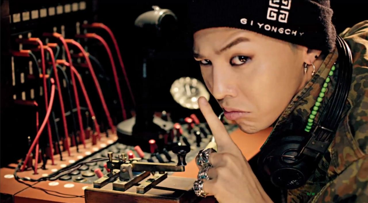 GD wants you to go watch the  G Dragon Smile Crayon