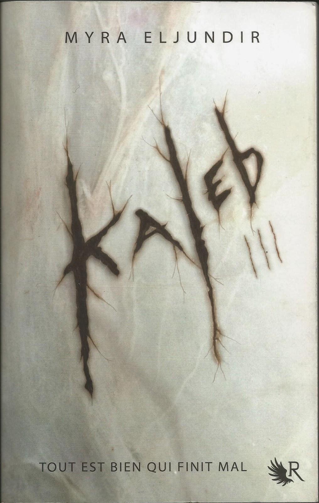 Kaleb 3 - Fusion - Myra Eljundir - Couverture
