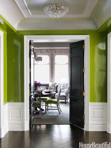 Apartment entryway moldings: south shore decorating blog: hallways ...