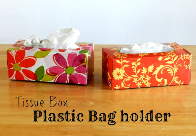 Plastic Bag Holder Tissue Box