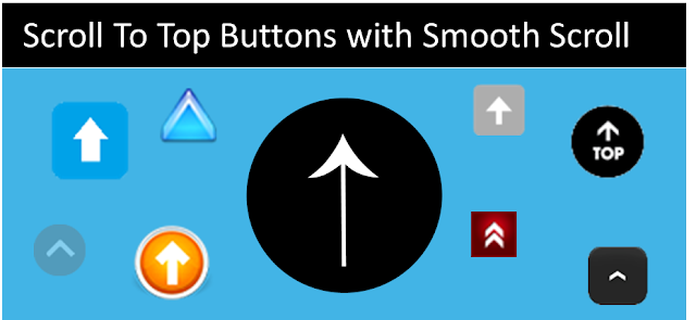 Smooth Scrolling Back to Top Button for Blogger