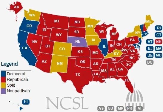 Liberal Utopia: Brake, D.C. — Accelerate, States