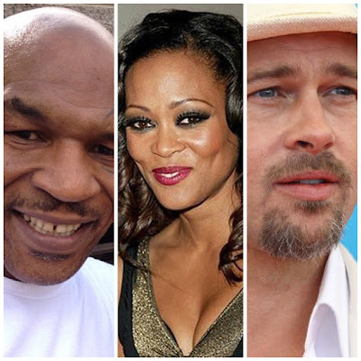 Mike Tyson caught Brad Pitt in bed with Robin Givens
