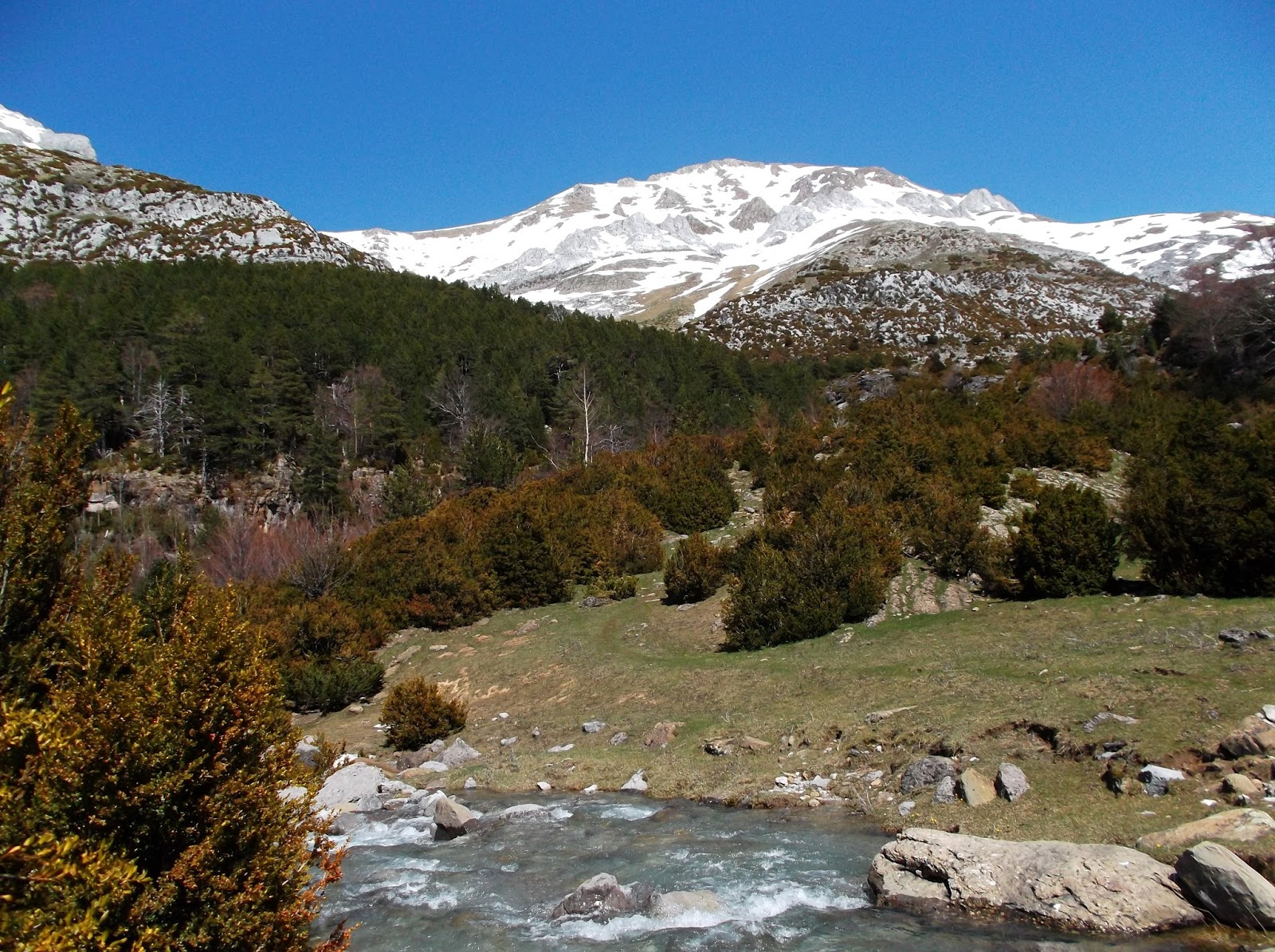 Pyrenees - Northern Spain
