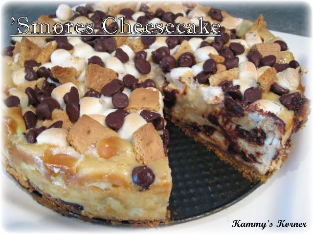 Kammy's Korner: S'mores Cheesecake Recipe {Happy National S'mores...