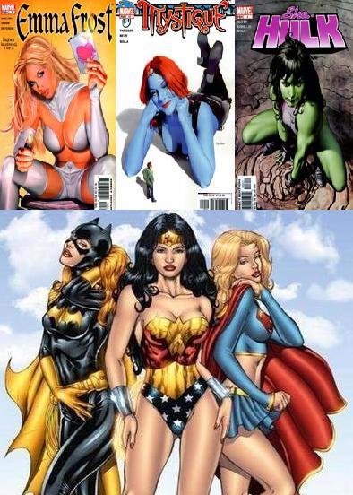 Hentai De Superheroinas Desnudas