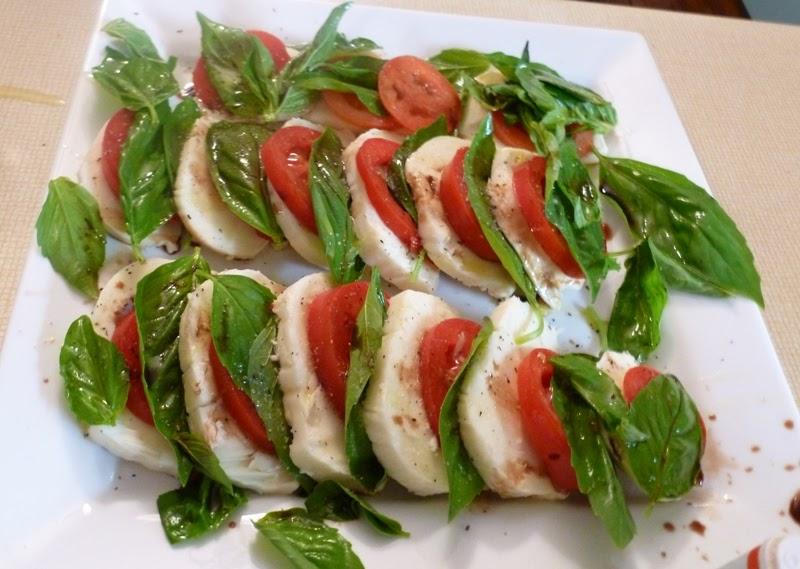Plum Crazy: Caprese Salad