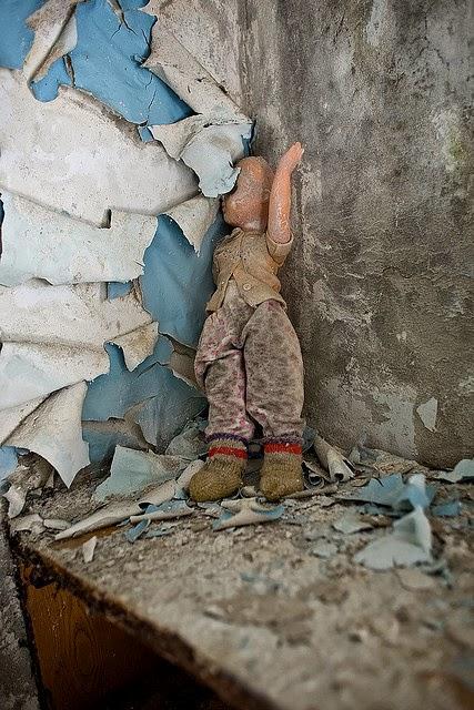 Broken doll in Pripyat, Chernobyl