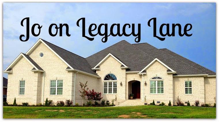 Jo on Legacy Lane