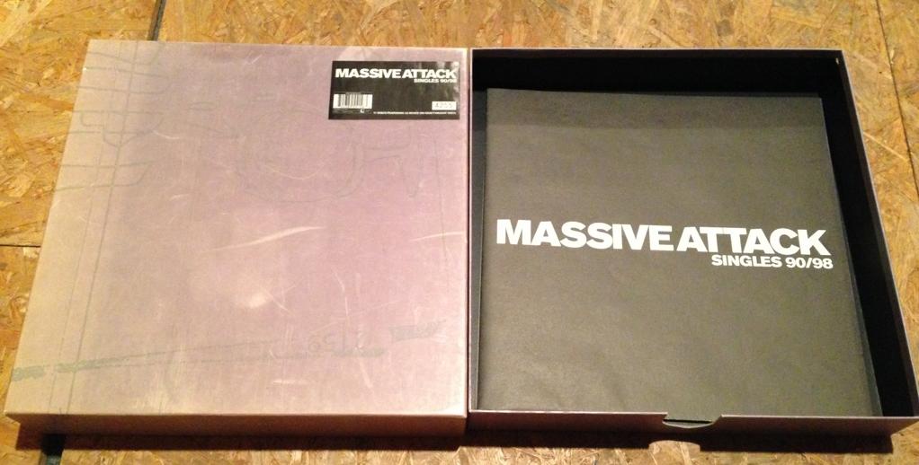 Massive Attack Singles and Remixes 90-98