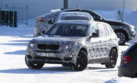 2017 BMW X3 M40i spotted during testing