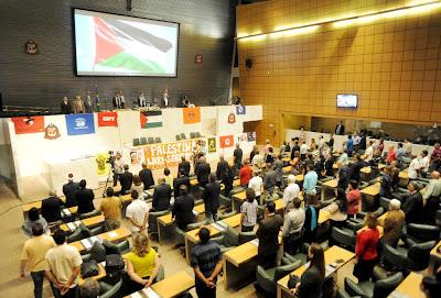Assembleia Legislativa de São Paulo é solidária com povo palestino