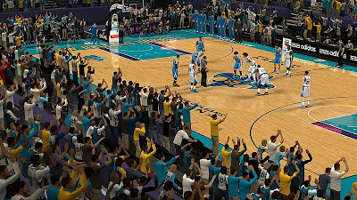 NBA 2K13 New Orleans Hornets Crowd Fix