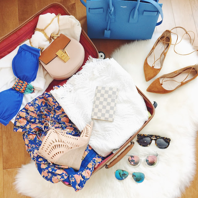 how to pack for a tropical vacation