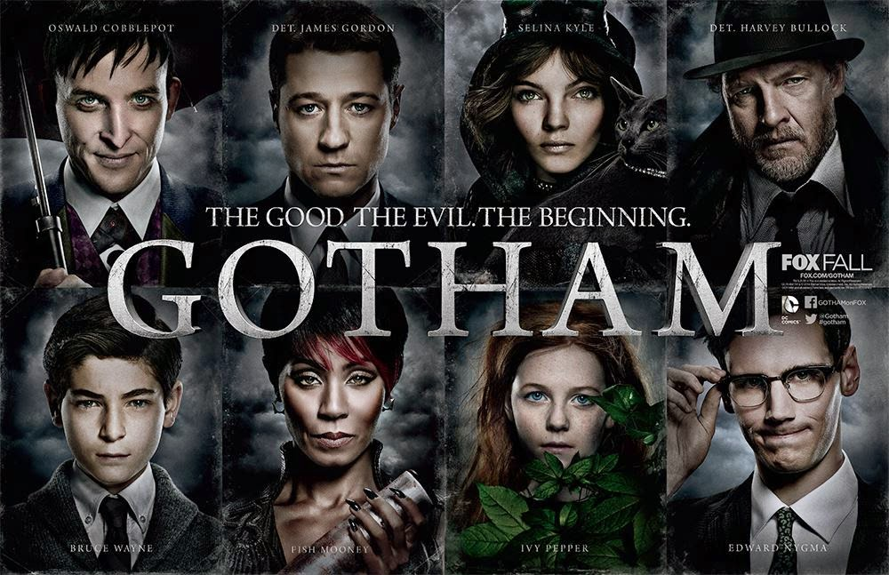 gotham tv show cast