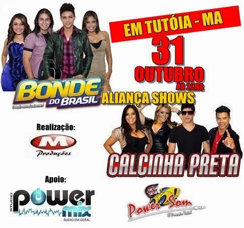 VEM AÍ!!! CALCINHA PRETA E BONDE DO BRASIL!!!