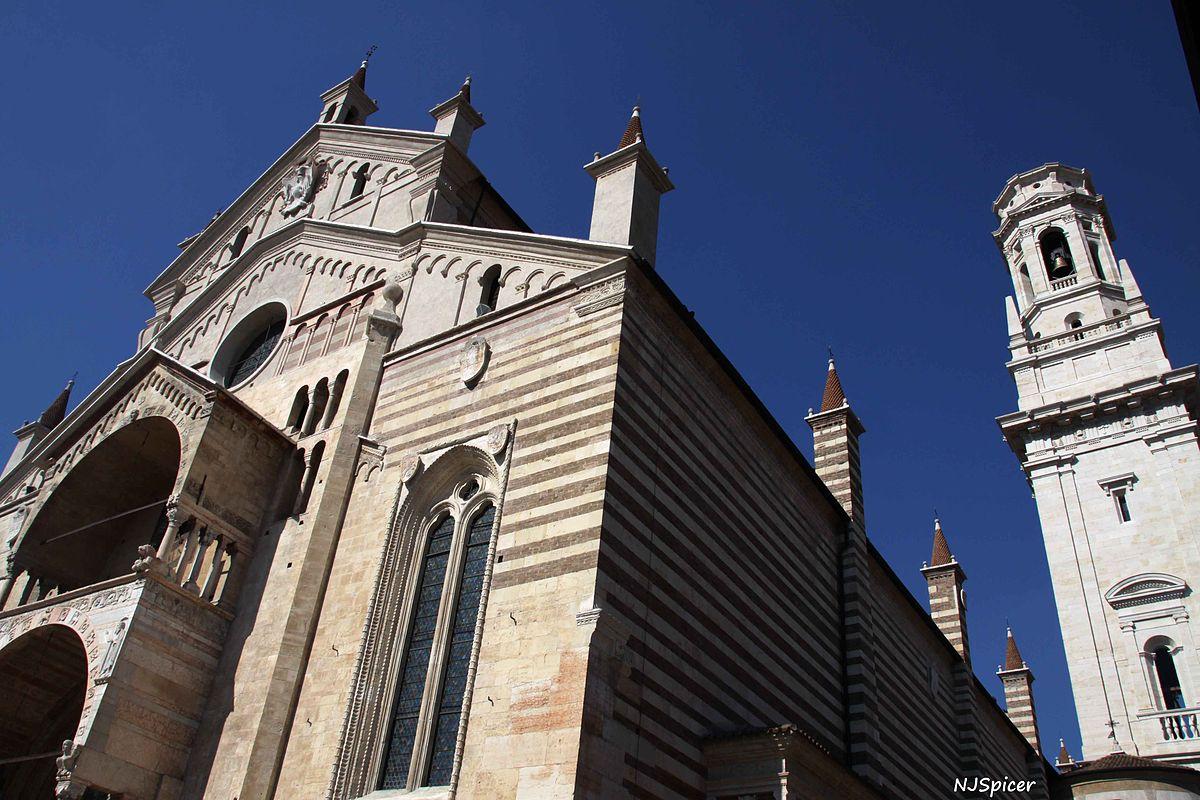 Verona's Duomo - Santa Maria Assunta. Photo: WikiMedia.org.