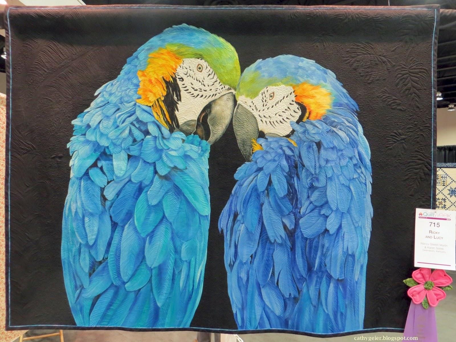 Cathy Geier's Quilty Art Blog: Ribbon Winners - AQS Paducah 2015 ... : aqs quilt show - Adamdwight.com