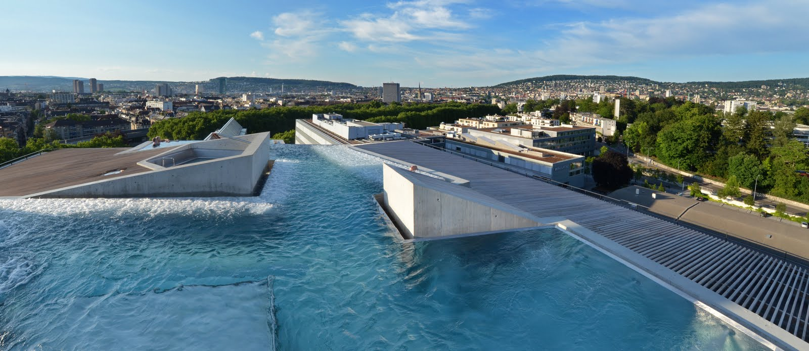 Studieren in z rich thermalbad und spa z rich for Hotel nice piscine sur le toit