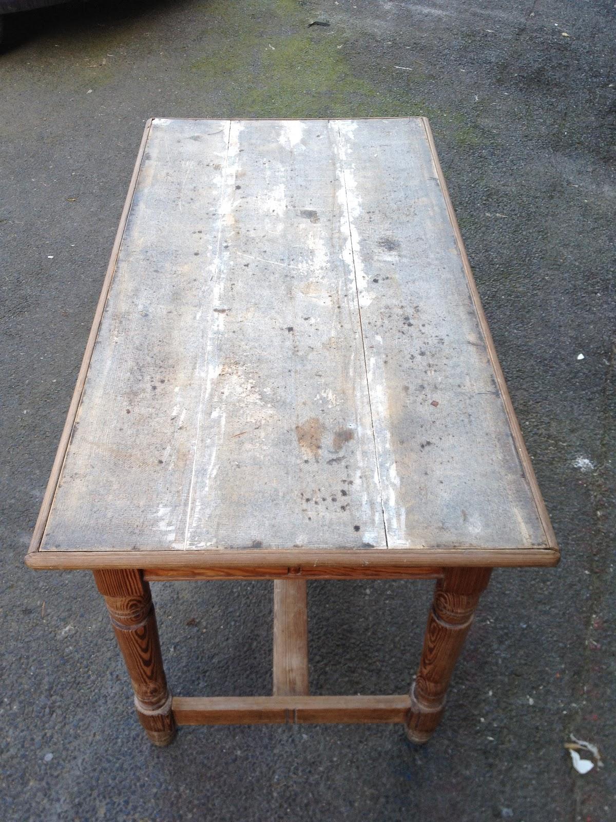 recouvrir table basse zinc