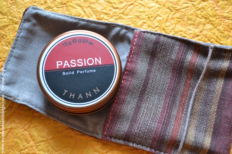 Thann solid perfume review passion reviews ingredients organic natural fragrance