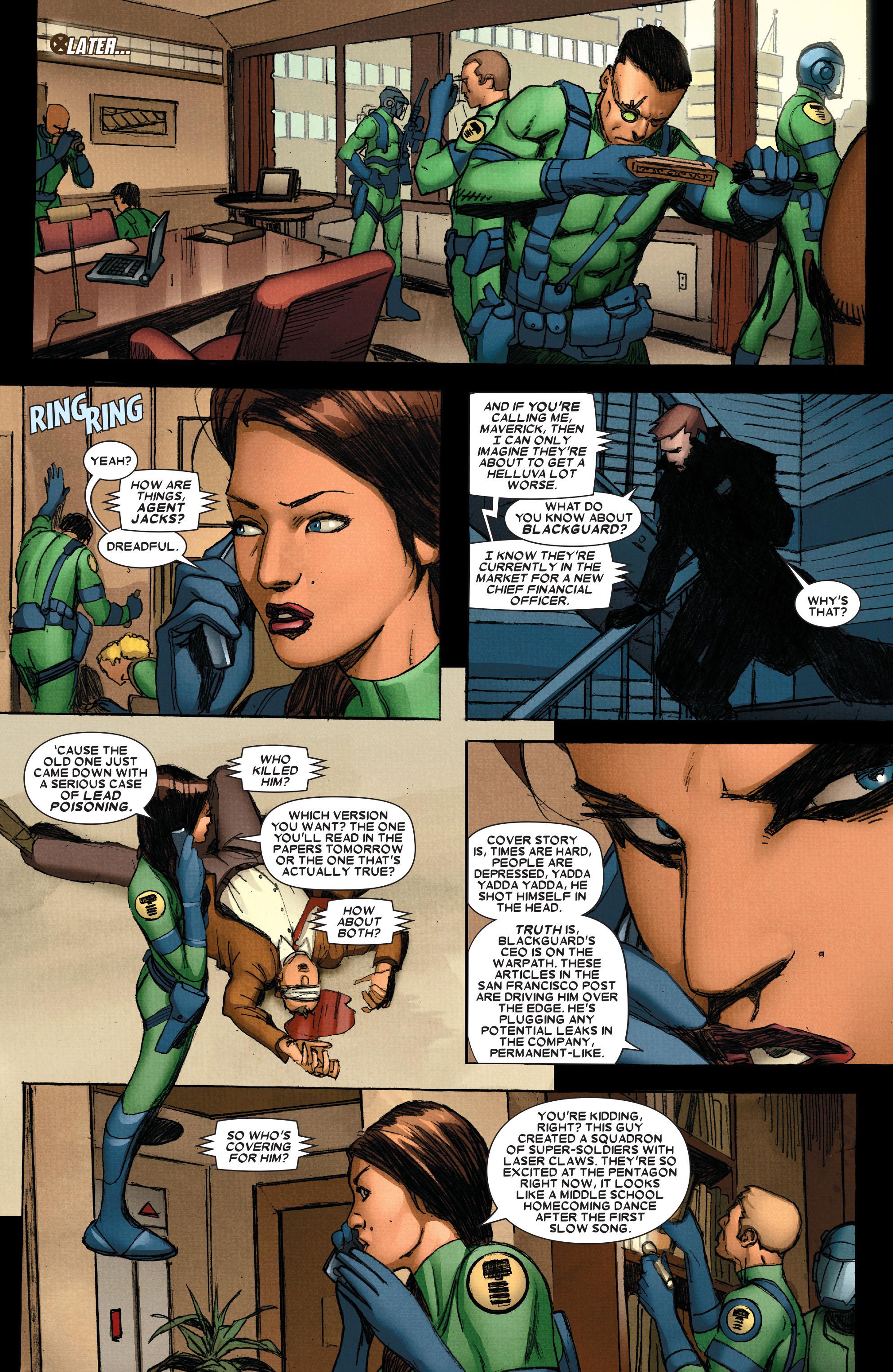 Wolverine: Weapon X #4 #13 - English 4