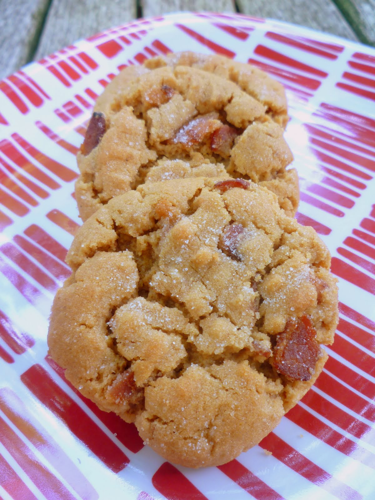 What's Baking in the Barbershop?!: Peanut Butter & Bacon Cookies
