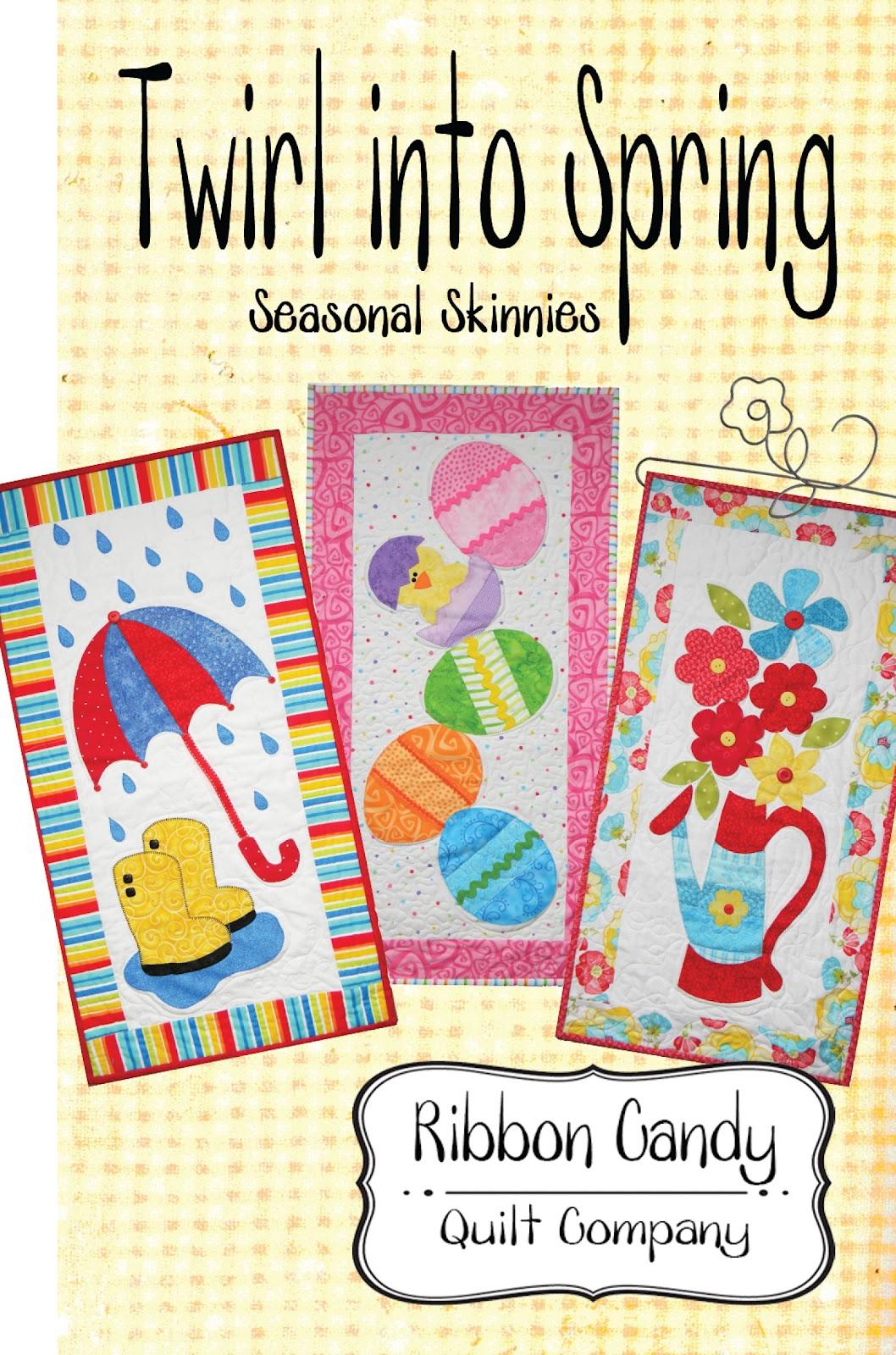 Ribbon Candy Quilt Company: New Seasonal Skinnies : ribbon candy quilt - Adamdwight.com