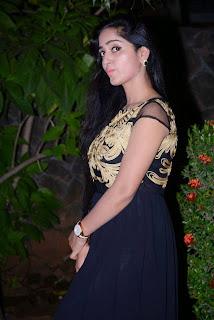 Actress Divya Singh Picture Gallery in Long Dress at Pagadai Pagadai Movie Press Meet 11