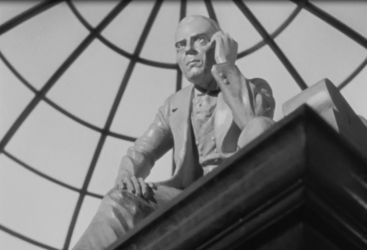 film review feast ew 1 citizen kane 1941 as cinematographer gregg toland shot it the scene started on the guard dunn made a miniature model of thatcher and perfectly matched the base of the