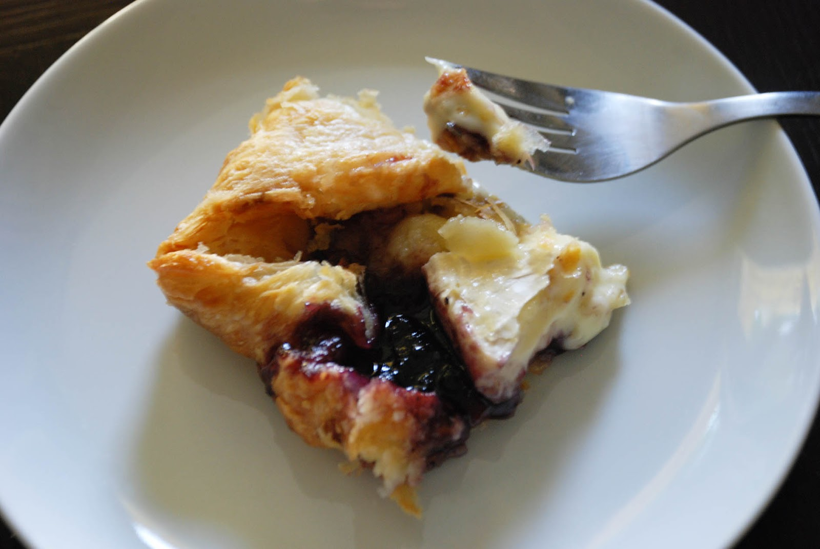 how to make jam puff pastry