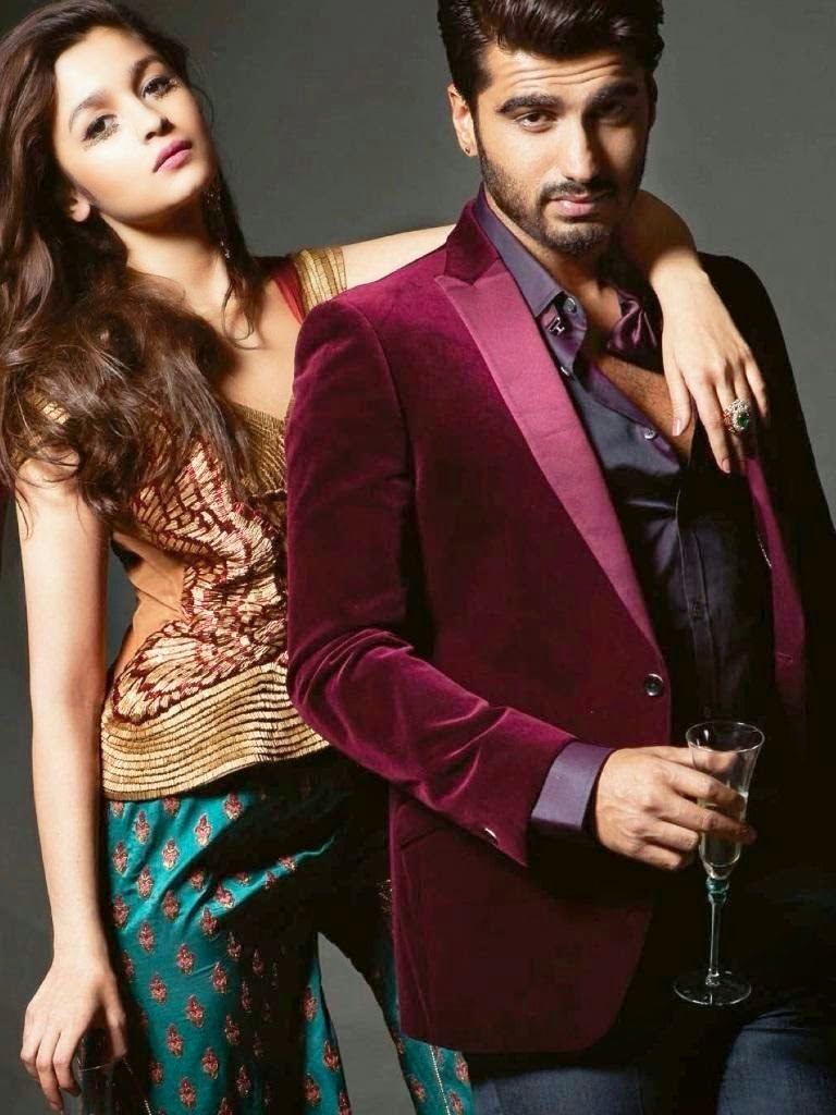 Alia Bhatt and Arjun Kapoor Wallpapers Free Download