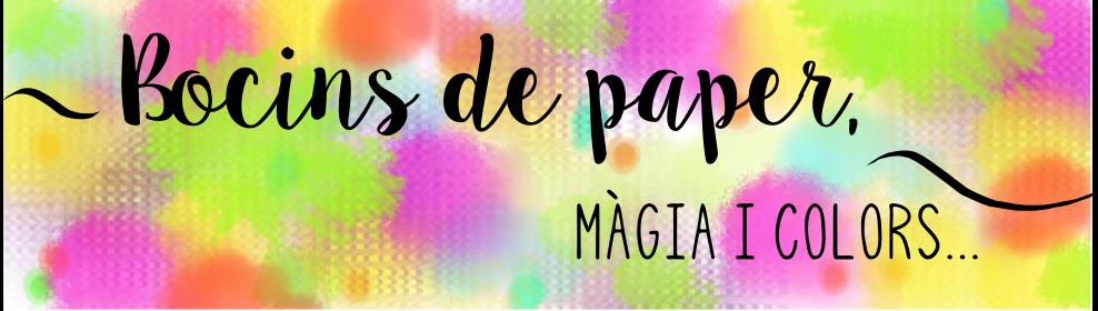 Bocins de paper, màgia i colors