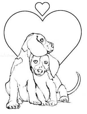 Printable Coloring Pages: Beagles Coloring Pages