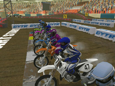Yamaha Supercross Game