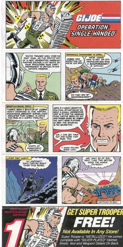 1988 Super Trooper, Mail Away, Paperwork
