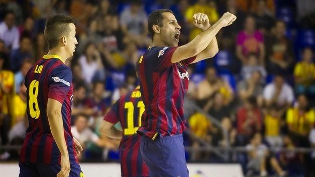 El Barça ganó en el Palau a ElPozo Murcia
