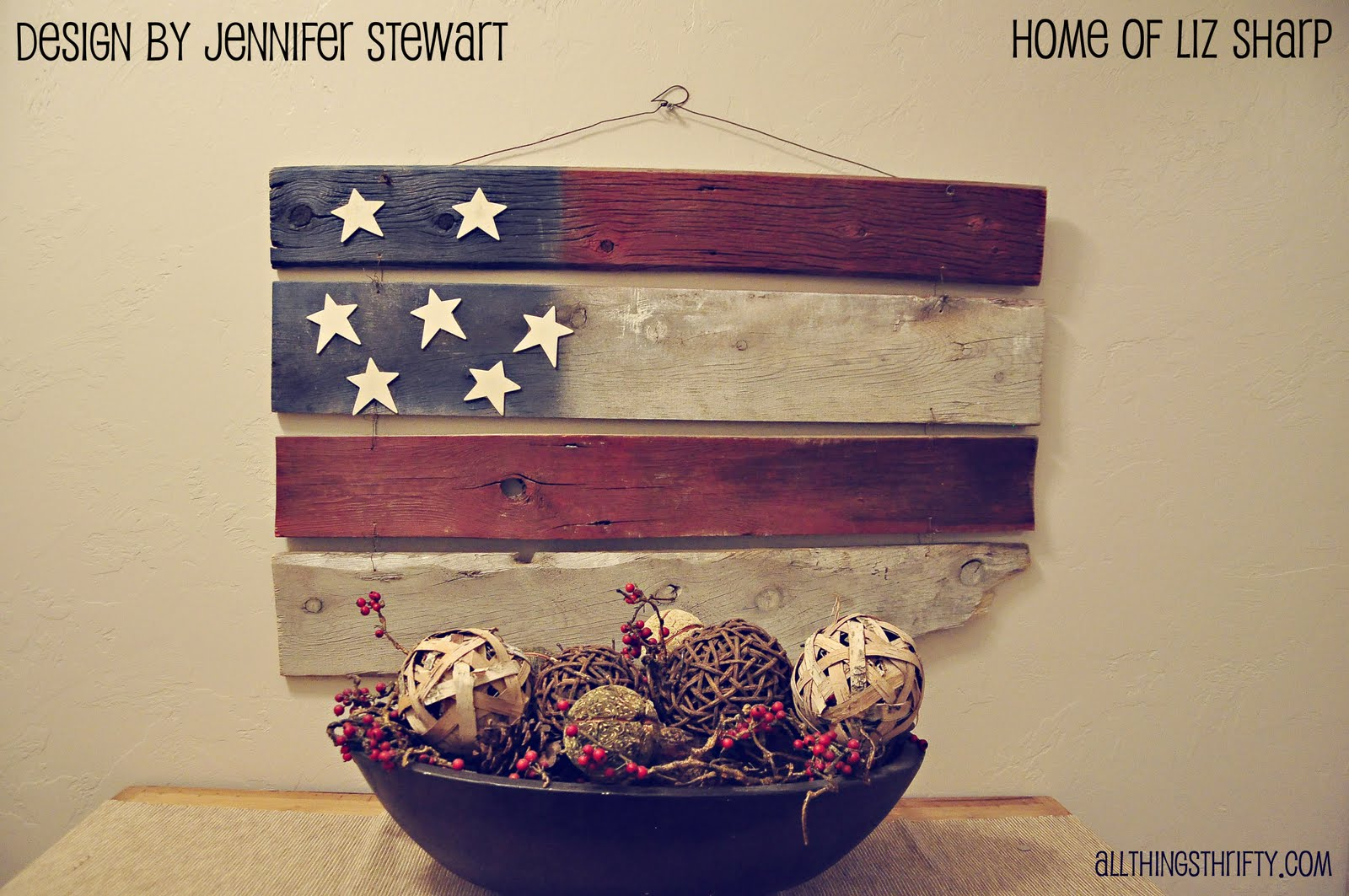 barn wood americana decor