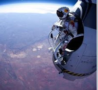 Felix Baumgartner's world-record jump